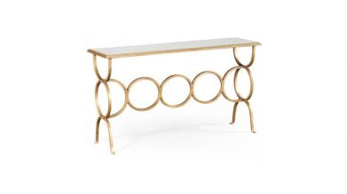 Artanis loop console table, from £1,414, Sweetpea and Willow