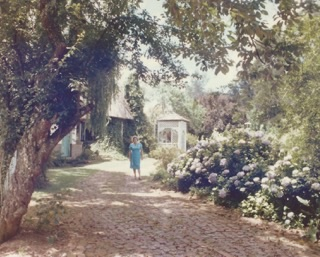 Vanessa Hogge's grandmother, Kath Thurston, Green Lantern, St Andrews St, Howick, Kwa Zulu Natal, South Africa