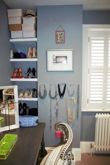 Karen Kennedy of Indigo Rye's dressing room for Charis White blog