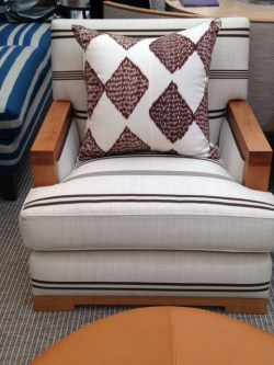 Charlotte James armchair, Decorex 2016, Charis White blog