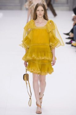 imageChloe Spring 2017 Ready to Wear from Vogue.com/Pinterest: Charis White blog SS17 interiors and fashion trends