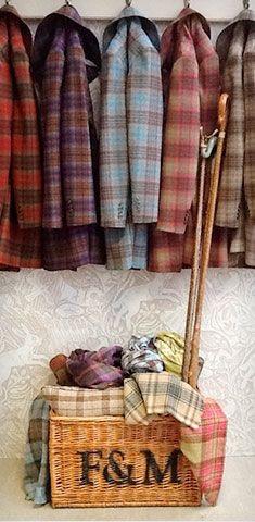 Tartan coats by Lochcarron of Scotland