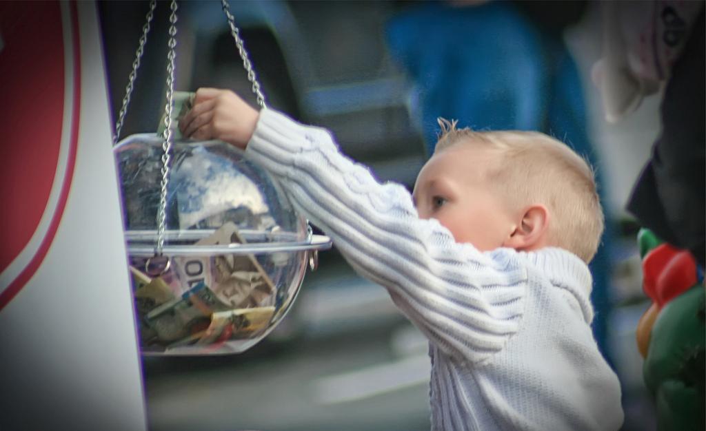 Raising philanthropic children 2014