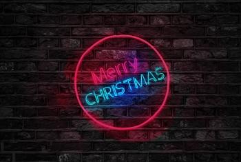christmas-greeting-card-brick-wall-christmas-by-house.jpg