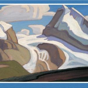 christmas-greeting-card-harris-maligne-lake-by-lawren-harris