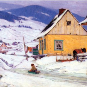 christmas-greeting-card-yellow-house-by-clarence-gagnon.jpg