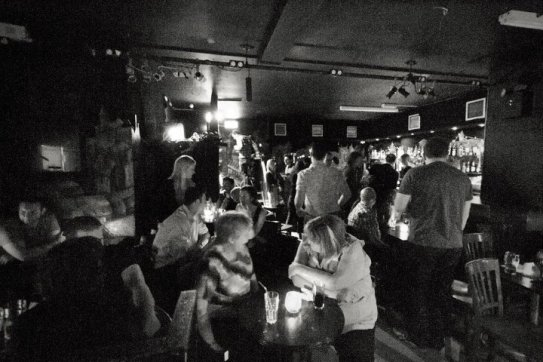 CHARITY CHUCKLE AUDIENCE, LATEST MUSIC BAR