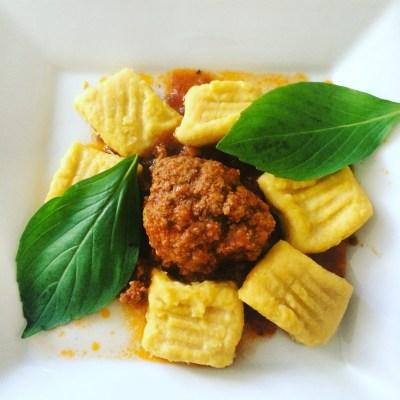 Pumkin Gnocchi