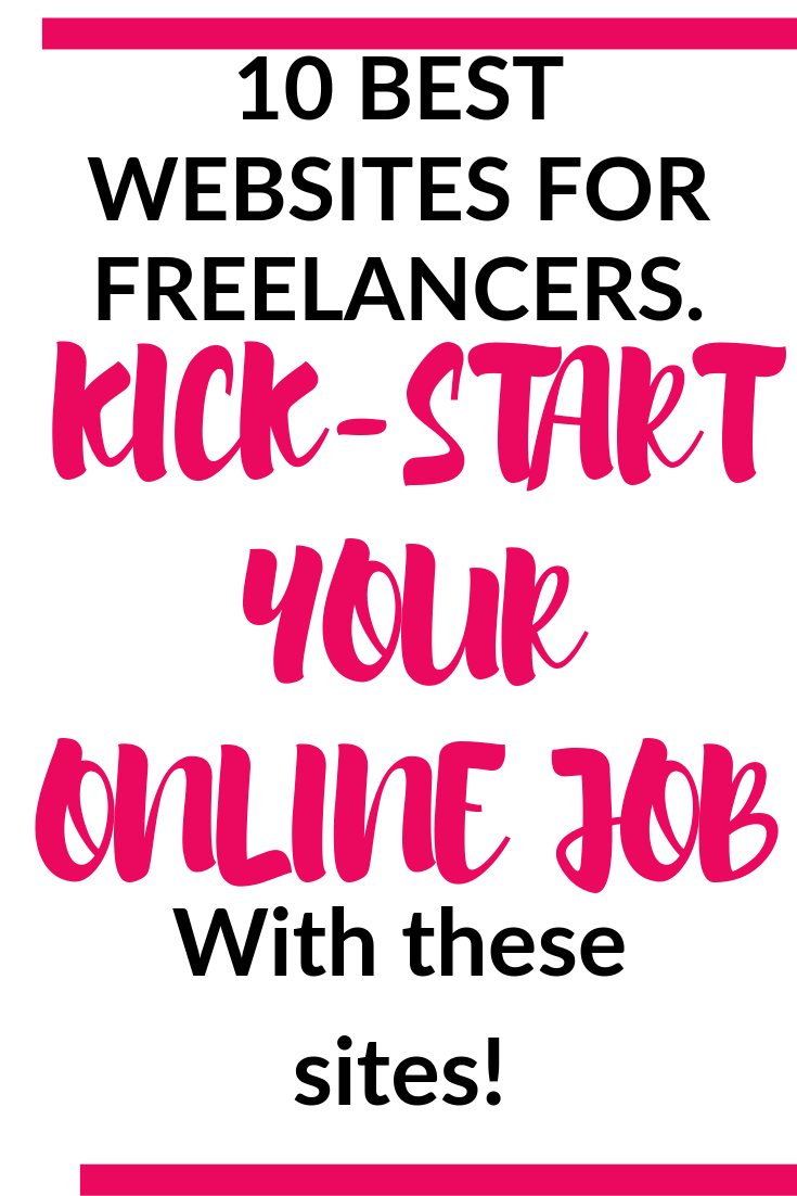 10 best websites for freelance writers.