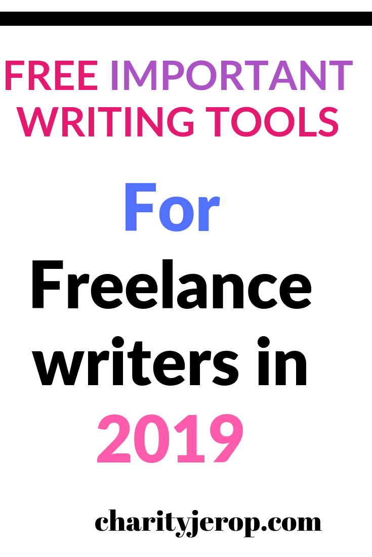 Free and paid writing programs for freelance writers.