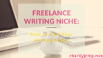 Freelance Writing Niche: How to Find Your Writing Niche