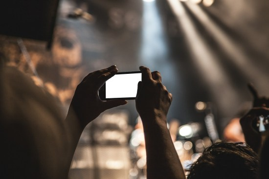smartphone crowd Almost Famous: Who Am I Trying to Become?