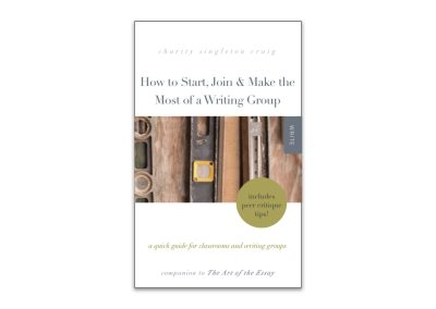 How to Start, Join & Make the Most of a Writing Group