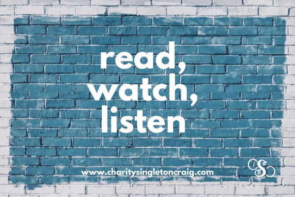Read, Watch, Listen: June 2020 Edition
