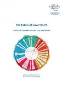 Report Cover - The Future of Government - World Economic Forum