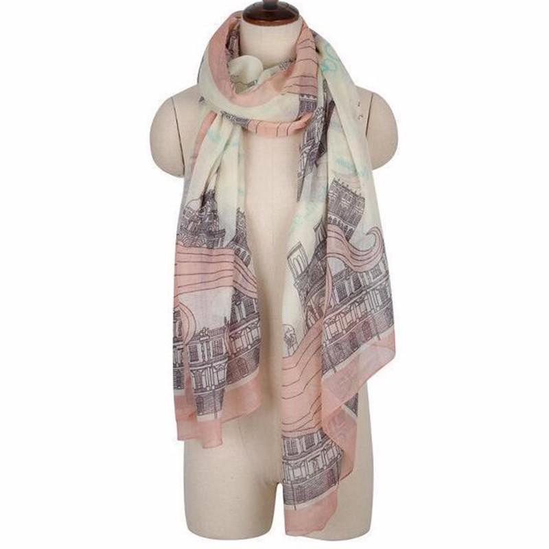 New Fashion Trendy Women Long Bohemian Print Wrap Shawl