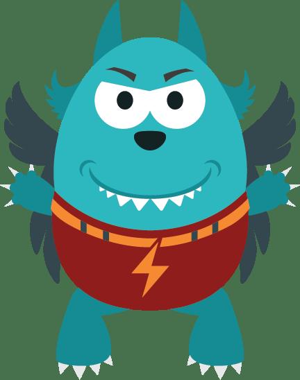 Charleen's Portrait Studio - Flash - Kids Club Monster Squad