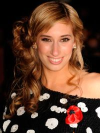 Stacey Solomon presented the awards