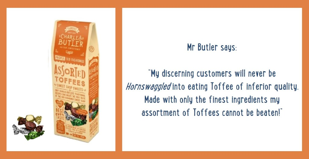 Charles Butler Assorted Toffee Information