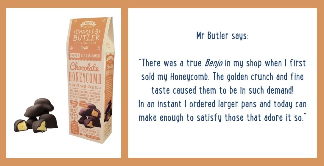 Charles Butler Chocolate Honeycomb Information