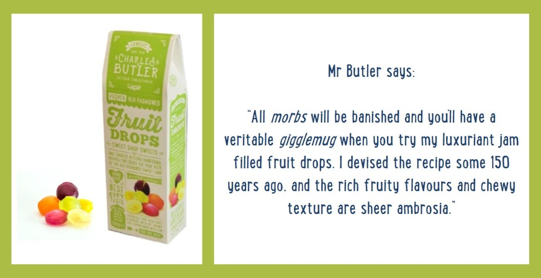 Charles Butler Fruit Drops Information