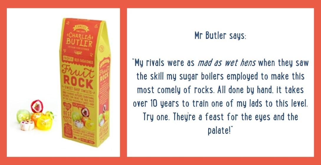 Charles Butler Fruit Rock Information