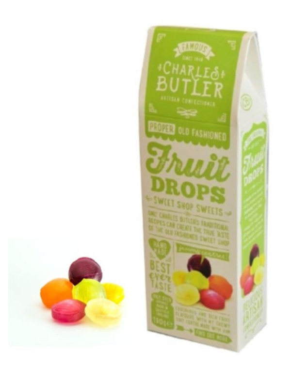 Charles Butler Fruit Drops Box with Sweets
