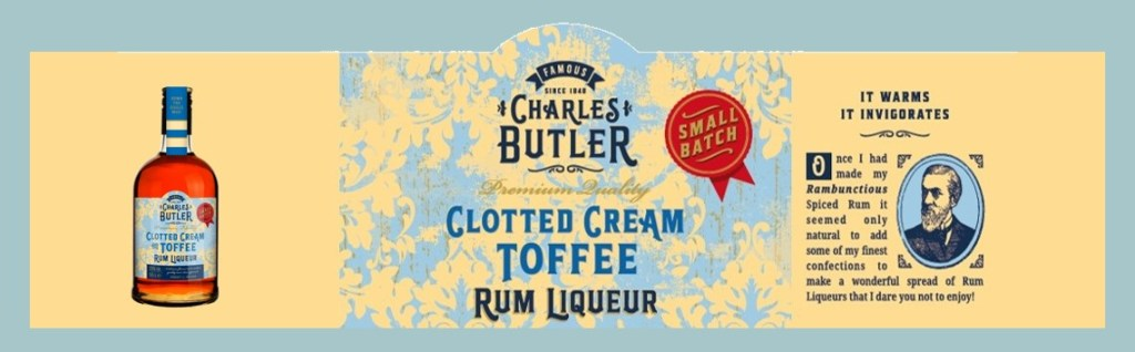 Charles Butler Clotted Cream Toffee Rum Liqueur
