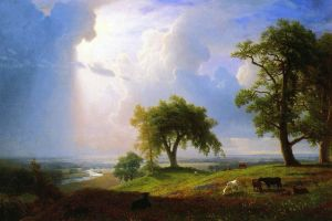 California Spring. By Albert Bierstadt.
