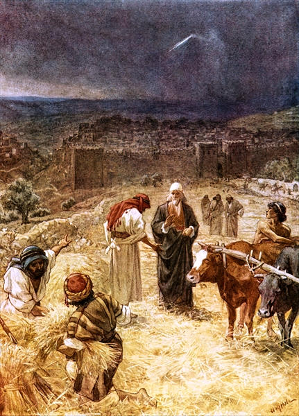 King David Purchasing the Threshing Floor of Araunah_By William B. Hole