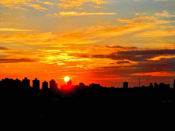 Tel Aviv Sunset.