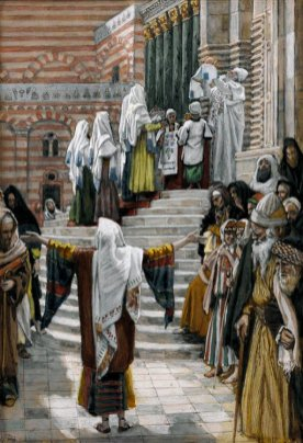 The Presentation of Jesus in the Temple_Tissot
