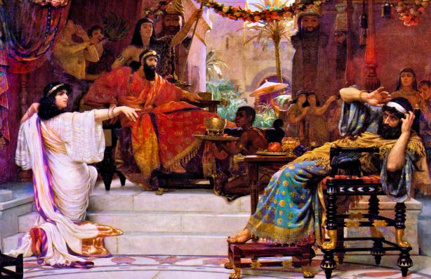 3_Esther Denouncing Haman_Ernest Normand