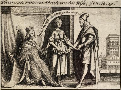 Pharaoh Restores Abram His Wife
