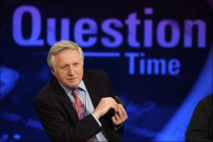 Question Time with David Dimbleby BBC bias?