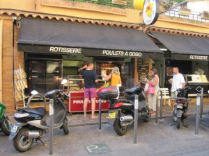 Learning French in Le Lavandou, Provence