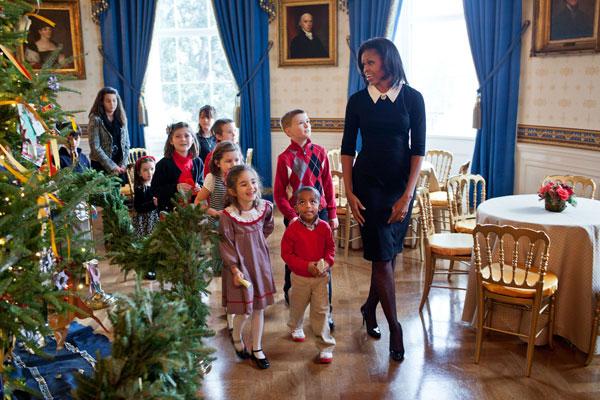 White House Christmas Decorating Ideas