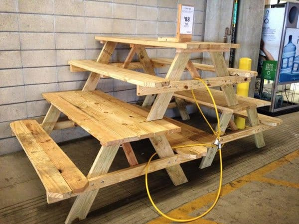 build-picnic-table