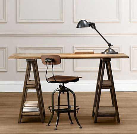 desk-sawhorse-table