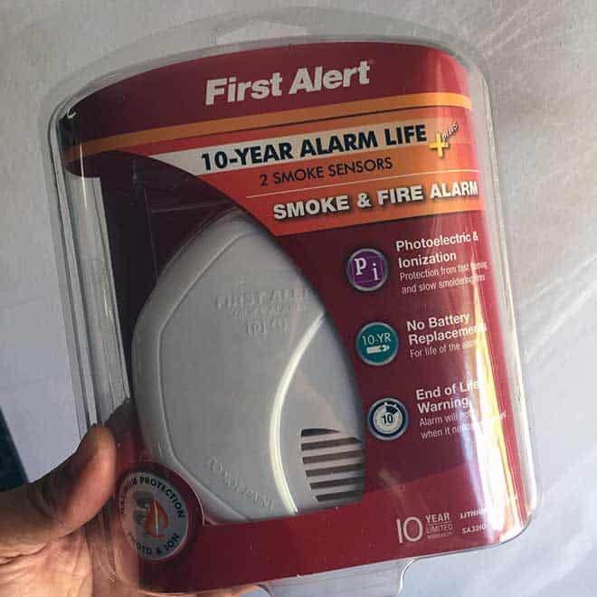 first-alert-smoke-alarm-10year