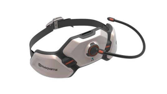 Design concept Husqvarna Ramus - hip belt battery