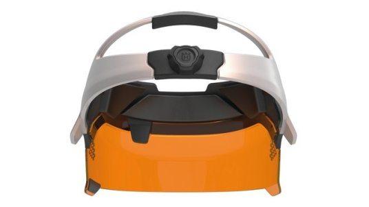 Design concept Husqvarna Ramus - visor from behind