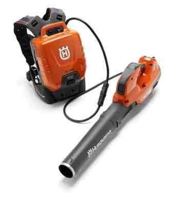 Husqvarna's professional battery blower - 536LiBX with backpack battery - BLi940X