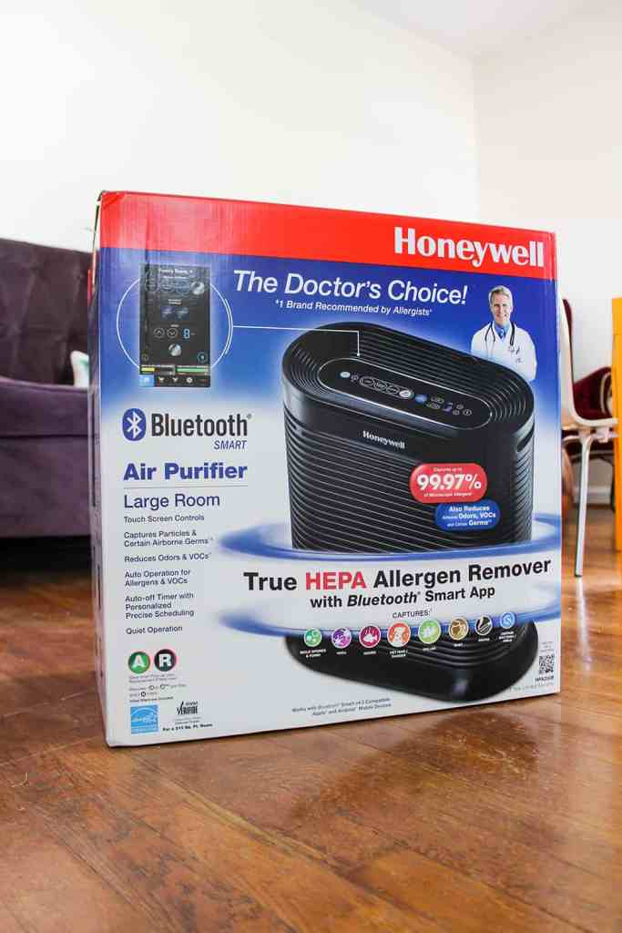 honeywell bluetooth air filter