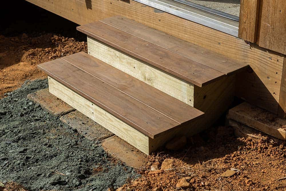 How To Build Steps Using Ipe Decking