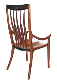 High Back Dining Chair Patterns  Charles Brock Chairmaker