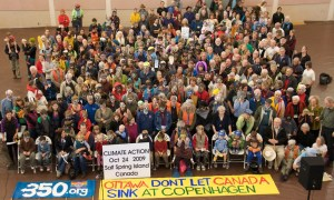 Climate Action Day on Saltspring Island, Canada