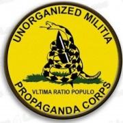 Unorganized-Militia-Propaganda-Corps-Badge