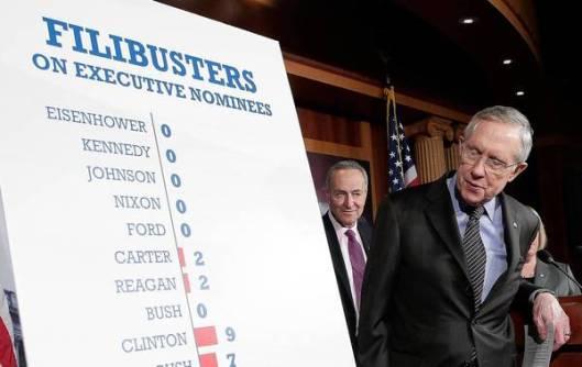 la-afp-getty-senate-democrats-pass-nuclear-option-20131121