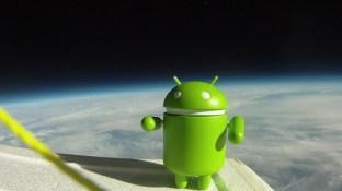 Android dans l'espace